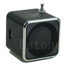 1PC Micro SD TF Mini USB Speaker Music Player Portable FM Radio Stereo PC MP3