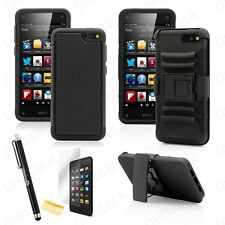 For Amazon Fire Phone Rugged Hybrid Shockproof Stand Holster Clip Case Cover