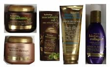 Assorted Organix Hair Care Products - Styling Oil, Amplifying Lotion, Masque