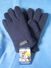 MEN'S HEAVY DUTY INSULATED FLEECE GLOVES - ONE SIZE FITS MOST