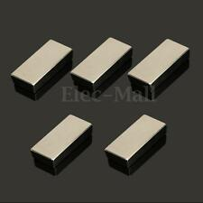 1/2/5Pcs Neodymium Block Magnet 50x25x10mm N52 Super Strong Rare Earth Magnets