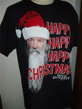 DUCK DYNASTY COMMANDER HAPPY HAPPY CHRISTMAS T SHIRT ROBERTSONS NEW