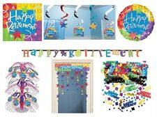 Happy RETIREMENT PARTY RANGE (Partyware/Decorations/Banners/Balloons)