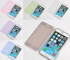 TPU Flip Gel Case Cover Skin, Smart Design, Full Protection Use Touch with Flip