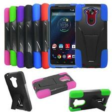 Phone Case For Motorola Droid Turbo Rugged Hard Cover with Kickstand