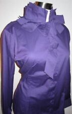 Naracamicie Blouse Italian Purple Designer Funky Scarf NWT Italy LS Shirt Top