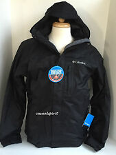 New Columbia mens Omni Heat waterproof 3 in 1 ski snow winter jacket parka Black