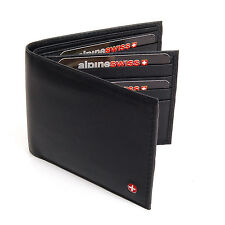 Mens Wallet Extra Capacity 2 Bill Sections 16 Card Slots ID Window Real Leather