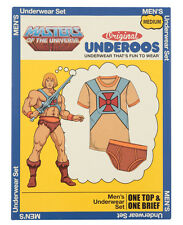 Adult He-Man Underoos Masters Of The Universe Cartoon Superhero Mens Underwear