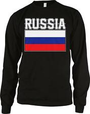Russia Text Flag Russian Pride Rossiyane Rossiya Rossii Long Sleeve Thermal