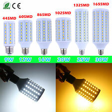 NEW High Quality 220V E27 9/12/16/20/25/30W LED 5050SMD Spotlight Corn Lamp Bulb