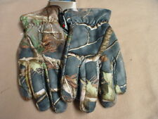 Hand Armor Camouflage Waterproof Thinsulate Lined Hunting Winter Gloves #90 CAMO