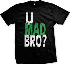You U Mad Bro Sayings Humor Funny Joke Troll Meme Mens T-shirt