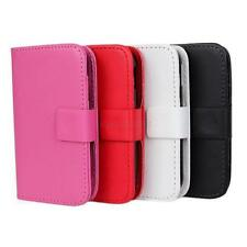 1 PU Leather Wallet Card Flip Open Case Cover Protector F Samsung Galaxy Y S5360