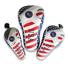 Universal USA Stars and Stripes Flag Driver Fairway Wood Hybrid Headcover