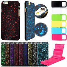 Fashion 3D Star Light Back Case Cover Colorful Matte For iPhone 5 5S 6 6Plus