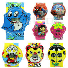 New Cute Cartoon Children Kid Unisex Sports Bendable Strap Quartz Wrist Watch