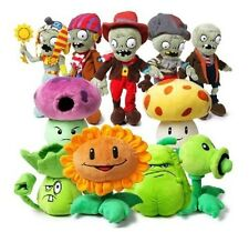 Lovely Plants vs Zombies 2 PVZ Figures Plush Toys Baby Stuffed Doll 25cm 30cm