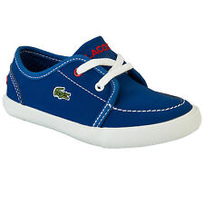 Infant Boys Lacoste L27 Boat Trainers In Blue From Get The Label