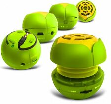 GREEN MP3 CAPSULE PLAYER SPEAKER W/ MICRO USB/TF CARD SLOT FOR VARIOUS PHONES