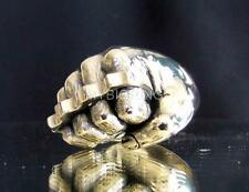 BRONZE  ARTWORK RING FIST WITH KNUCKLE DUSTER HAND ANTIQUED ANY SIZE