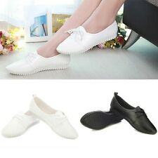 New Womens Faux Leather Flats Lace up Shoes Slip-on Loafers & Moccasins