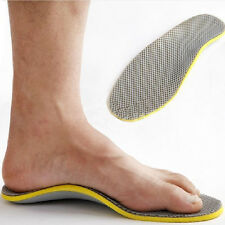 Memory Foam Orthotic Foot High Arch Support Insoles Flat Feet Pad Pain Relief