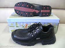 Startrite Boys Black Leather Lace up School Shoes Brand New in Box
