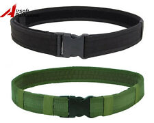 """1.5"""" Airsoft Tactical Military Police Nylon Load Bearing Combat Duty Web Belt"""
