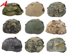 Tactical Military Airsoft Helmet Cover Helmüberzug for MICH TC-2002 ACH Helmet