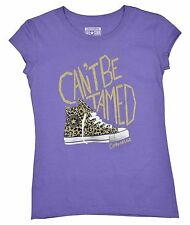 Converse Big Girls (7-16) Chuck Can't Be Tamed T-Shirt-Lilac