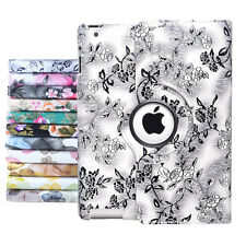 360 Rotating Leather Case Smart Stand Cover For Apple IPad Air 1/2/3/4 Mini1/2/3