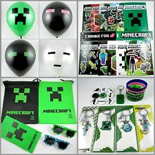 "Minecraft Inspired 10"" Party Balloons 20pc. lots! 4 Designs! Free Ship zdan81"
