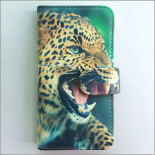 Brand new Leopard 198 wallet Flip case cover for Samsung/iphone/Nokia/HTC