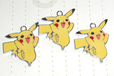Retro Kitsch Arcade Anime Pokemon Pikachu Charm Pendants Cute Games