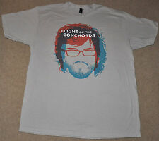 Flight of the Conchords HBO TV comedy Show Series Brett Jermaine gray T SHIRT XL