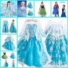 Disney Frozen Princess Costume KPRIDE Elsa Party Outfit Anna Cosplay Fancy Dress