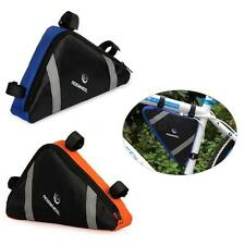 Bicycle Bike Bag Front Frame Head Pipe Triangle Bag Pouch Sporting Accessories