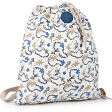 Converse Fashion Canvas Mens Gym Bag - White Blue Hawaiian Print One Size