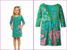 LITTLE LILLY PULITZER CHARLENE DRESS LILLY LOUNGE S(4-5) M L(8-10)XL(12-14)