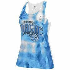 adidas Orlando Magic Women's Sublimated Sequin Tank Top - Royal Blue