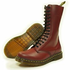 Dr. Martens 1914 14 Eye Hole Skinhead Boot Cherry Red Smooth