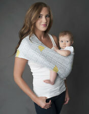 New Seven Slings Cyrus Grey Baby Carrier Sling Infant Newborn Multiple Sizes