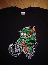 Downhill mountain bike bicycle monster fink freeride cross country BMX T shirt