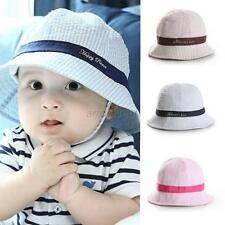 Toddler Infant Sun Cap Summer Outdoor Baby Girl Sun Beach Bucket Hat 3 Colors