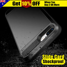 NEW Slide Card Armor Hard Tough Case Cover for Apple iPhone 6 / 6 Plus iPhone 5S