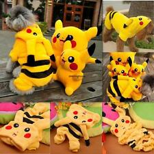 PIKACHU HOODIE beatledog dog clothes happy puppy apparel costume t-shirt top tee