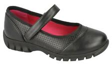 H3049- Girls Spoton Synthetic Black School/Formal Shoes- Great Price!