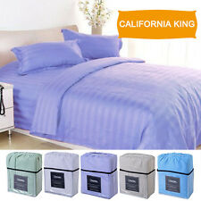 1800 Count 4 Piece Bed Sheet Set Deep Pocket 5 Color California King Size New