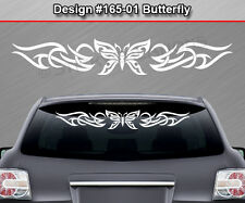 Design #165-01 BUTTERFLY Back Window Decal Sticker Graphic Tribal Accent Car SUV